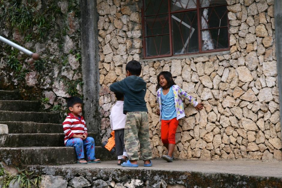 Sagada ciemata bērni